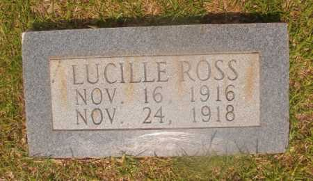 ROSS, LUCILLE - Hempstead County, Arkansas | LUCILLE ROSS - Arkansas Gravestone Photos