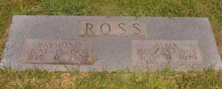 ROSS, RAYMOND - Hempstead County, Arkansas | RAYMOND ROSS - Arkansas Gravestone Photos