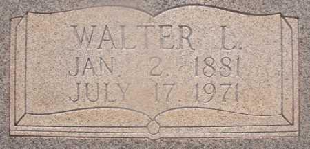 ROSS, WALTER L (CLOSEUP) - Hempstead County, Arkansas   WALTER L (CLOSEUP) ROSS - Arkansas Gravestone Photos