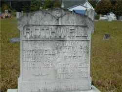 ROTHWELL, JOHN - Hempstead County, Arkansas   JOHN ROTHWELL - Arkansas Gravestone Photos