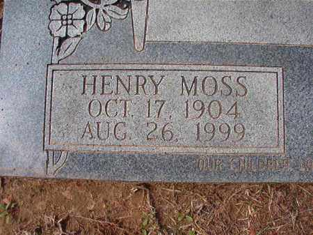 ROWE, HENRY MOSS (CLOSE UP) - Hempstead County, Arkansas | HENRY MOSS (CLOSE UP) ROWE - Arkansas Gravestone Photos