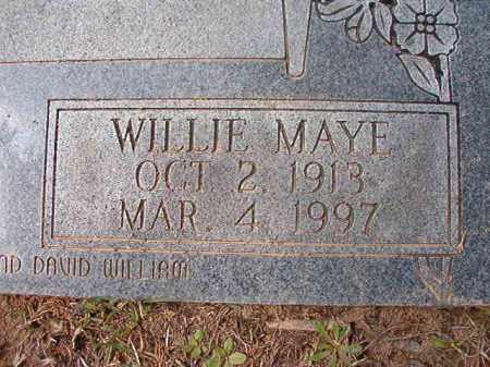 ROWE, WILLIE MAYE (CLOSE UP) - Hempstead County, Arkansas   WILLIE MAYE (CLOSE UP) ROWE - Arkansas Gravestone Photos