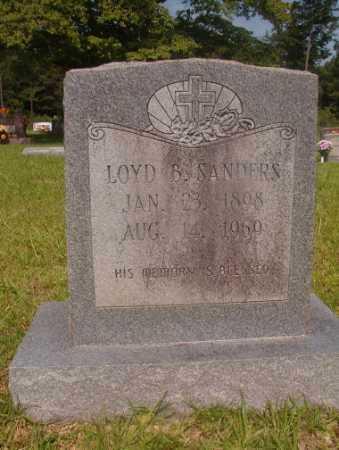 SANDERS, LOYD B - Hempstead County, Arkansas | LOYD B SANDERS - Arkansas Gravestone Photos