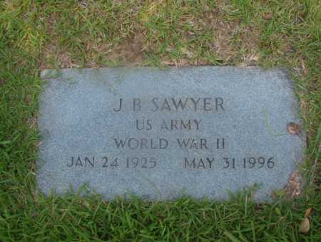 SAWYER (VETERAN WWII), J B - Hempstead County, Arkansas | J B SAWYER (VETERAN WWII) - Arkansas Gravestone Photos