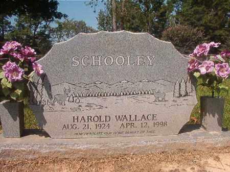 SCHOOLEY, HAROLD WALLACE - Hempstead County, Arkansas | HAROLD WALLACE SCHOOLEY - Arkansas Gravestone Photos