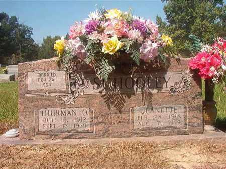 SCHOOLEY, THURMAN O - Hempstead County, Arkansas | THURMAN O SCHOOLEY - Arkansas Gravestone Photos