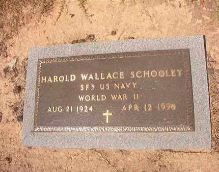 SCHOOLEY (VETERAN WWII), HAROLD WALLACE - Hempstead County, Arkansas | HAROLD WALLACE SCHOOLEY (VETERAN WWII) - Arkansas Gravestone Photos