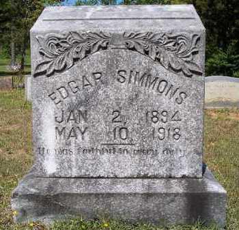 SIMMONS, EDGAR - Hempstead County, Arkansas | EDGAR SIMMONS - Arkansas Gravestone Photos