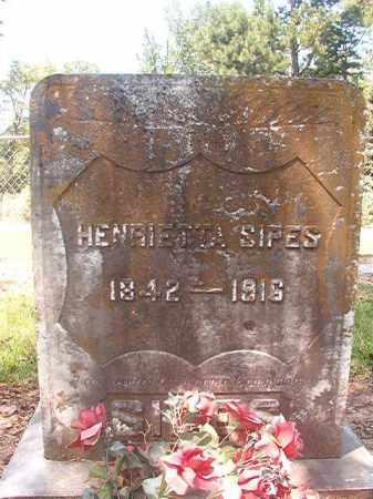 SIPES, HENRIETTA - Hempstead County, Arkansas | HENRIETTA SIPES - Arkansas Gravestone Photos