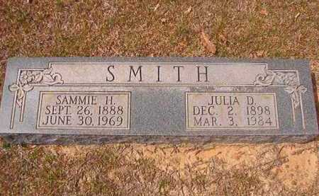 SMITH, SAMMIE H - Hempstead County, Arkansas | SAMMIE H SMITH - Arkansas Gravestone Photos