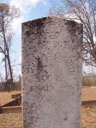 SMITH (VETERAN CSA), THOMAS C - Hempstead County, Arkansas | THOMAS C SMITH (VETERAN CSA) - Arkansas Gravestone Photos