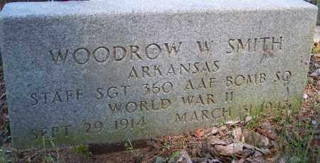 SMITH (VETERAN WWII), WOODROW W - Hempstead County, Arkansas | WOODROW W SMITH (VETERAN WWII) - Arkansas Gravestone Photos