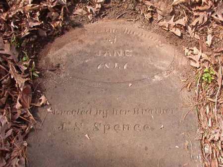SPENCE, JANE - Hempstead County, Arkansas | JANE SPENCE - Arkansas Gravestone Photos