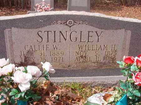 STINGLEY, CALLIE W - Hempstead County, Arkansas | CALLIE W STINGLEY - Arkansas Gravestone Photos