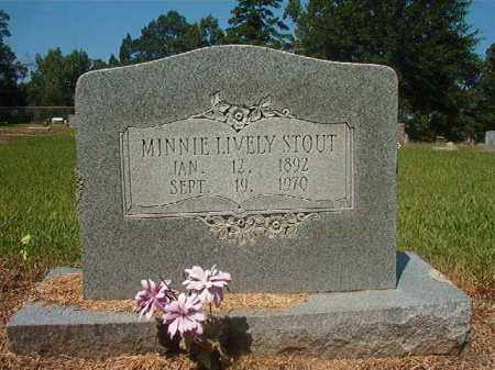 STOUT, MINNIE - Hempstead County, Arkansas | MINNIE STOUT - Arkansas Gravestone Photos