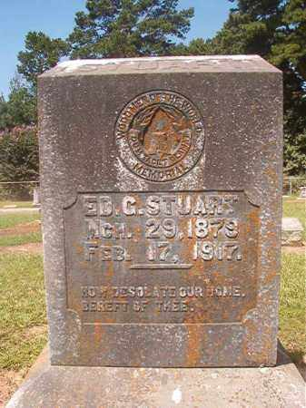 STUART, ED G - Hempstead County, Arkansas   ED G STUART - Arkansas Gravestone Photos