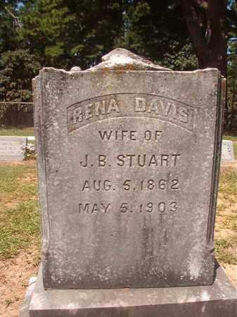 DAVIS STUART, RENA - Hempstead County, Arkansas | RENA DAVIS STUART - Arkansas Gravestone Photos