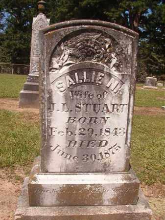 STUART, SALLIE N - Hempstead County, Arkansas | SALLIE N STUART - Arkansas Gravestone Photos