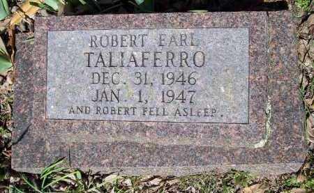 TALIAFERRO, ROBERT EARL - Hempstead County, Arkansas   ROBERT EARL TALIAFERRO - Arkansas Gravestone Photos