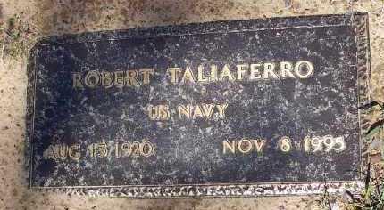 TALIAFERRO (VETERAN), ROBERT ISAAC - Hempstead County, Arkansas   ROBERT ISAAC TALIAFERRO (VETERAN) - Arkansas Gravestone Photos