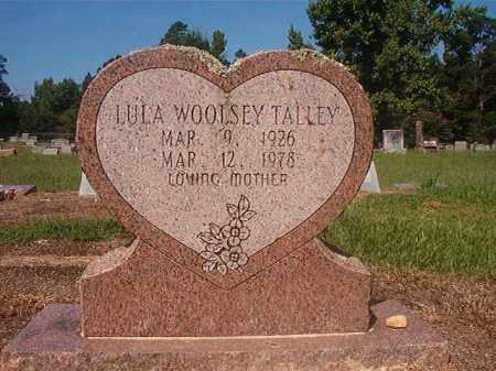 TALLEY, LULA - Hempstead County, Arkansas | LULA TALLEY - Arkansas Gravestone Photos