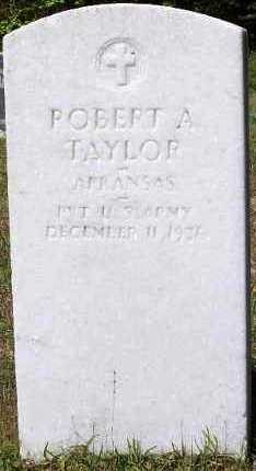 TAYLOR (VETERAN), ROBERT A - Hempstead County, Arkansas | ROBERT A TAYLOR (VETERAN) - Arkansas Gravestone Photos