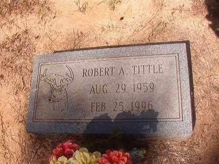 TITTLE, ROBERT A - Hempstead County, Arkansas | ROBERT A TITTLE - Arkansas Gravestone Photos