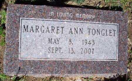 TONGLET, MARGARET ANN - Hempstead County, Arkansas | MARGARET ANN TONGLET - Arkansas Gravestone Photos