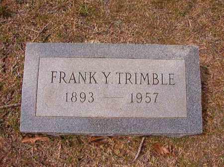 TRIMBLE, FRANKY - Hempstead County, Arkansas | FRANKY TRIMBLE - Arkansas Gravestone Photos