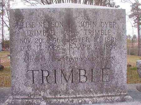 TRIMBLE, LILLIE - Hempstead County, Arkansas | LILLIE TRIMBLE - Arkansas Gravestone Photos