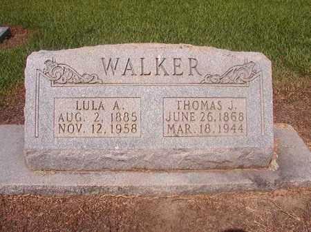 WALKER, LULA A - Hempstead County, Arkansas | LULA A WALKER - Arkansas Gravestone Photos