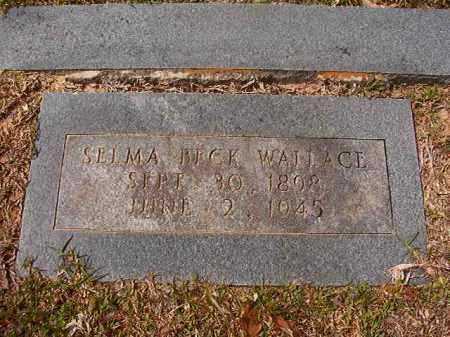 BECK WALLACE, SELMA - Hempstead County, Arkansas | SELMA BECK WALLACE - Arkansas Gravestone Photos