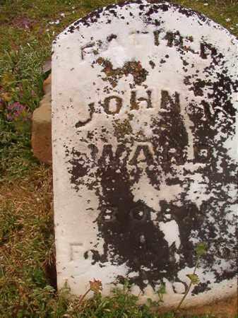 WARD, JOHN W - Hempstead County, Arkansas   JOHN W WARD - Arkansas Gravestone Photos