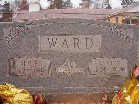 WARD, ALICE - Hempstead County, Arkansas | ALICE WARD - Arkansas Gravestone Photos