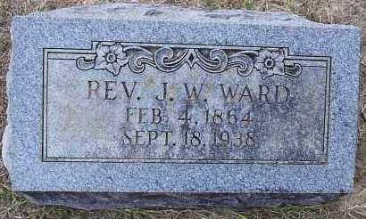 WARD,  REV, J W - Hempstead County, Arkansas | J W WARD,  REV - Arkansas Gravestone Photos