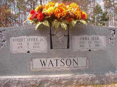 WATSON, JR, ROBERT SEVIER - Hempstead County, Arkansas | ROBERT SEVIER WATSON, JR - Arkansas Gravestone Photos