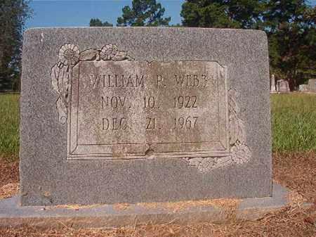 WEBB, WILLIAM P - Hempstead County, Arkansas | WILLIAM P WEBB - Arkansas Gravestone Photos