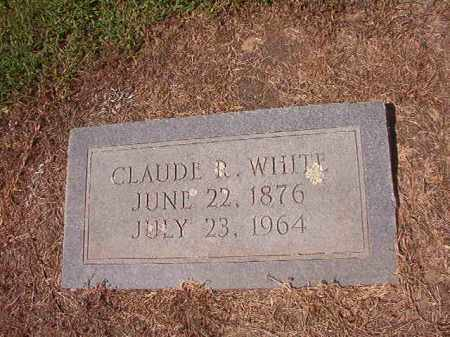 WHITE, CLAUDE R - Hempstead County, Arkansas | CLAUDE R WHITE - Arkansas Gravestone Photos