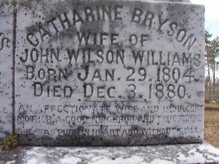 BRYSON WILLIAMS, CATHARINE (CLOSE UP) - Hempstead County, Arkansas   CATHARINE (CLOSE UP) BRYSON WILLIAMS - Arkansas Gravestone Photos