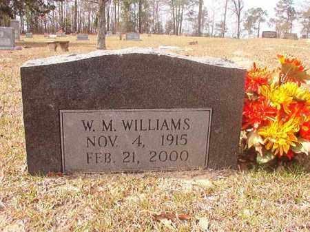 WILLIAMS, W M - Hempstead County, Arkansas   W M WILLIAMS - Arkansas Gravestone Photos
