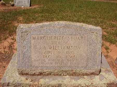 STUART WILLIAMSON, MARGUERITE - Hempstead County, Arkansas | MARGUERITE STUART WILLIAMSON - Arkansas Gravestone Photos