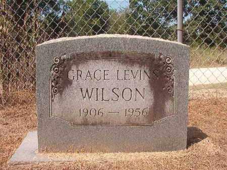 LEVINS WILSON, GRACE - Hempstead County, Arkansas | GRACE LEVINS WILSON - Arkansas Gravestone Photos