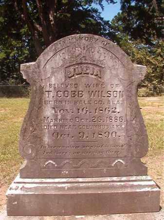 WILSON, JULIA - Hempstead County, Arkansas   JULIA WILSON - Arkansas Gravestone Photos