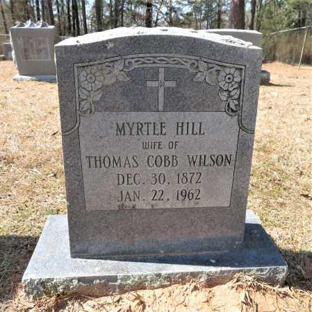 HILL WILSON, MYRTLE - Hempstead County, Arkansas | MYRTLE HILL WILSON - Arkansas Gravestone Photos