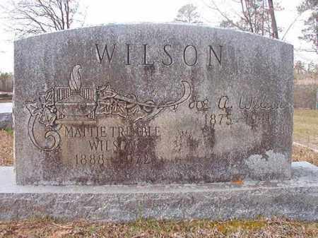 WILSON, MATTIE - Hempstead County, Arkansas | MATTIE WILSON - Arkansas Gravestone Photos