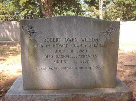 WILSON, ROBERT OWEN - Hempstead County, Arkansas   ROBERT OWEN WILSON - Arkansas Gravestone Photos