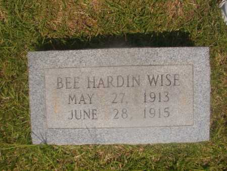 WISE, BEE HARDIN - Hempstead County, Arkansas   BEE HARDIN WISE - Arkansas Gravestone Photos