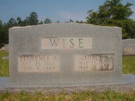 WISE, FLORENCE M - Hempstead County, Arkansas | FLORENCE M WISE - Arkansas Gravestone Photos