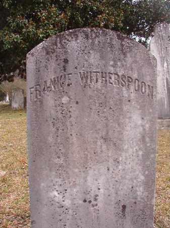 WITHERSPOON, FRANKIE - Hempstead County, Arkansas | FRANKIE WITHERSPOON - Arkansas Gravestone Photos