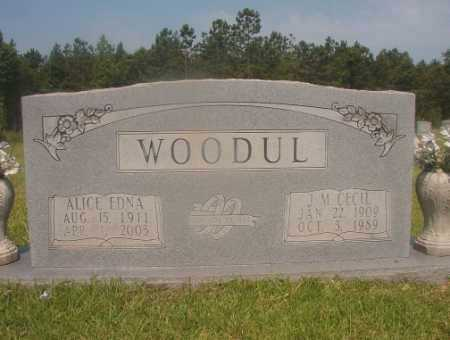 WOODUL, ALICE EDNA - Hempstead County, Arkansas | ALICE EDNA WOODUL - Arkansas Gravestone Photos